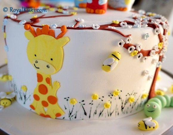 Birinci yaş günü pastası
