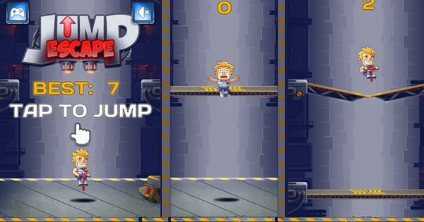 It sucks to be trapped in a dark tunnel. You can only escape by upward channel. Jump properly with the assistance of your stick. Land on the platform before it shuts down. A perfect timing is all that can make you win. Dodge all the obstacles with jumping skills and win this Html5 game. http://www.gamesnewgames.com/games/jump-escape