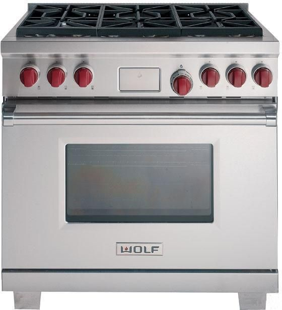 Wolf 36-inch Dual Fuel Stainless Steel Range - I can dream...