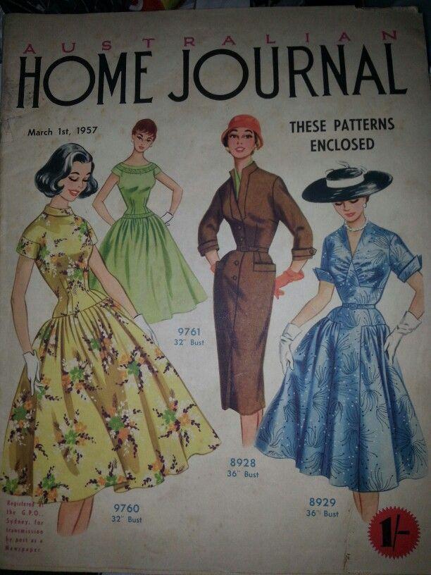 Image result for Australian home journal 1957