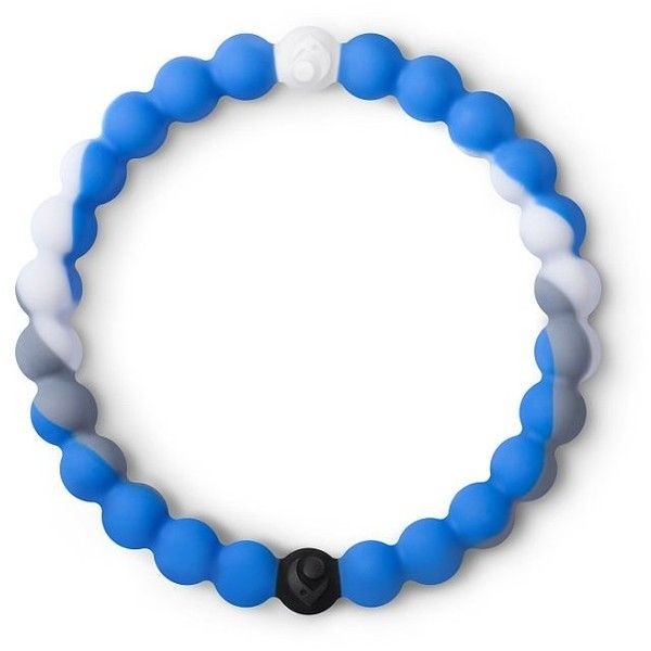 Shark Lokai Bracelet ($20) ❤ liked on Polyvore featuring jewelry, bracelets, blue, blue bangles, silicone jewelry and blue jewelry