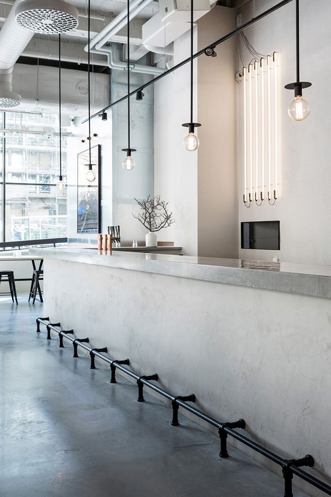Usine Restaurant in Stockholm by Richard Lindvall
