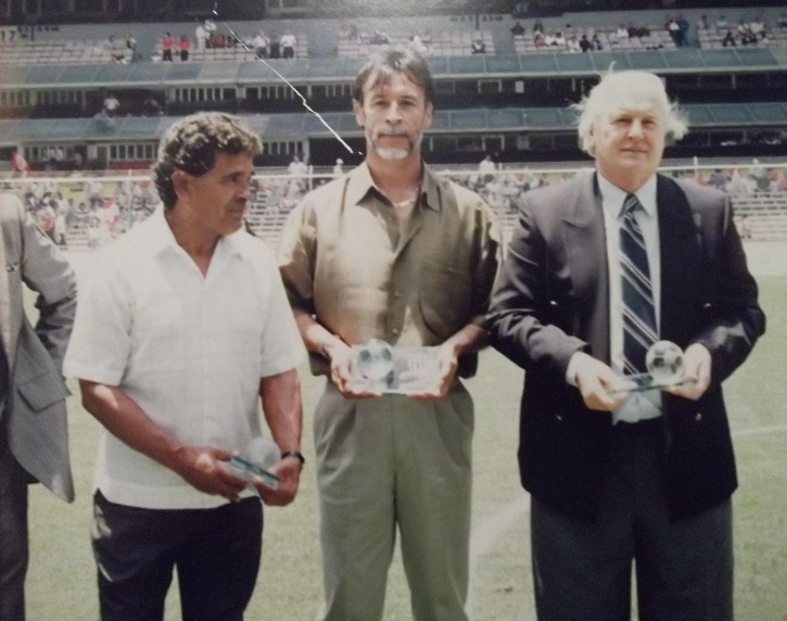 "Tomas ""El Fumanchu"" Reynoso, Mario ""Pichojos"" Perez y Reynaldo Giacomini"