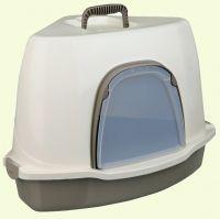Trixie Alvaro Закрытый угловой туалет для кошек  http://zverushka.org.ua/product/trixie_alvaro_zakritii_uglovoi_tualet_dlya_koshek