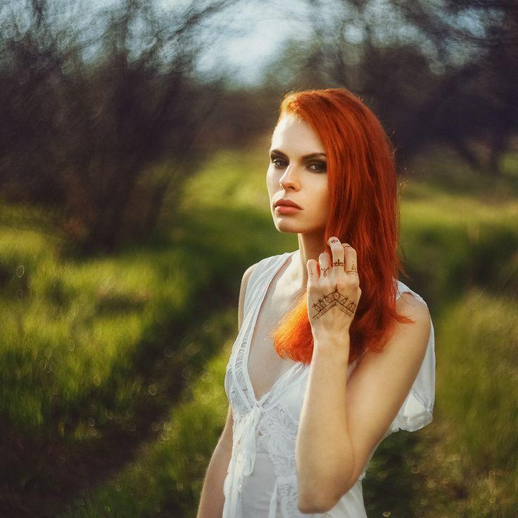 girl, Petr Kaykov, portrait,