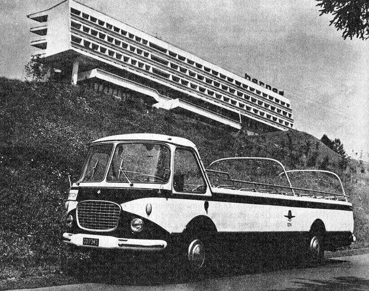 Hotel Harnas, Bukowina Tatrzańska, Poland (1969) Architects: Leszek Filar, Przemyslaw Gawor, George Pilitowskiego.