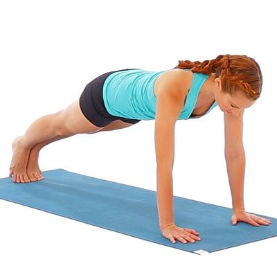 Combine killer individual moves into one to ratchet up the calorie-melting factor and look amazing from every angle.