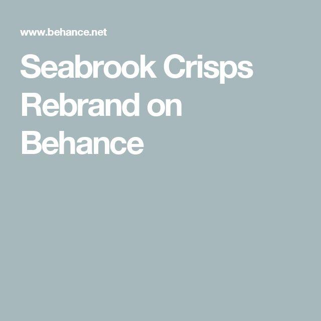 Seabrook Crisps Rebrand on Behance