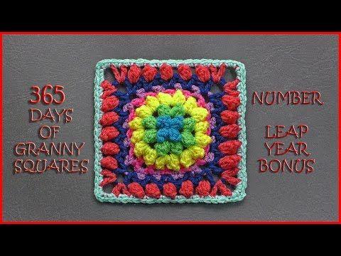 365 Days of Granny Squares Leap Year Bonus - YouTube