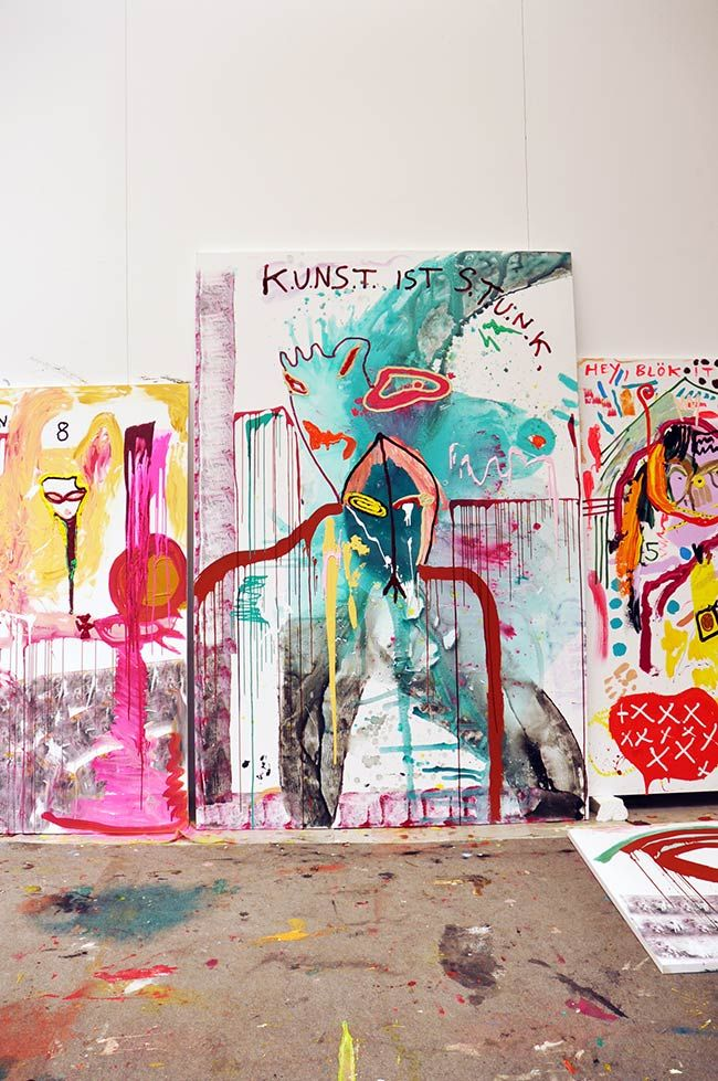 View whole artist profile of Jonathan Meese on artitious.
