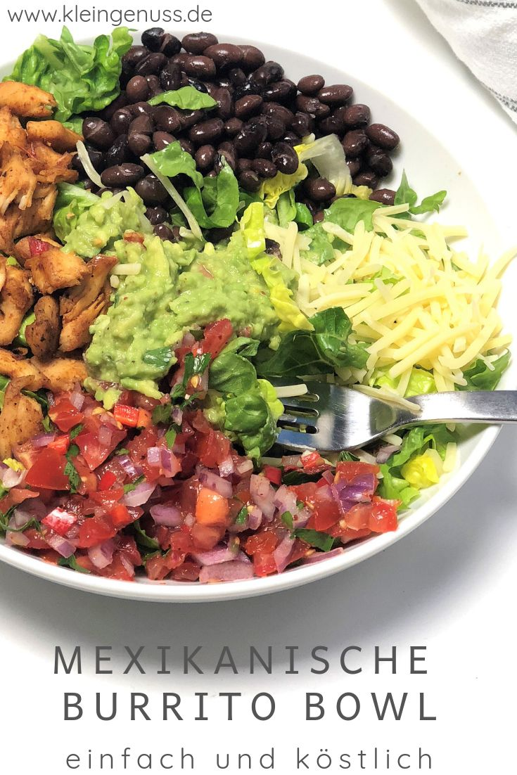 Mexikanische Burrito Bowl