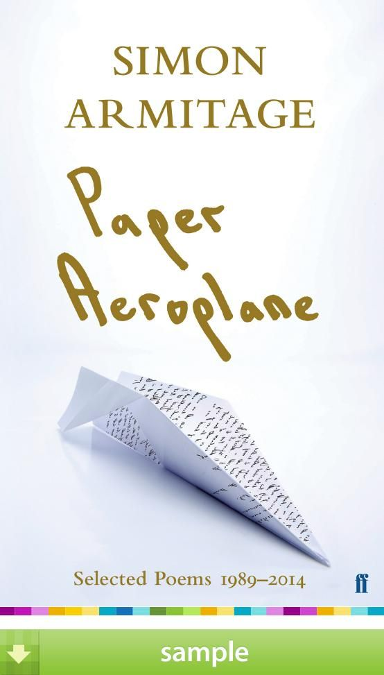 'Paper Aeroplane' by Simon Armitage - Download a free ebook sample and give it a try! Don't forget to share it, too.