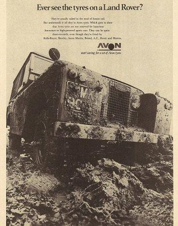 Land Rover Car Print 1969 Advertising Wall Art