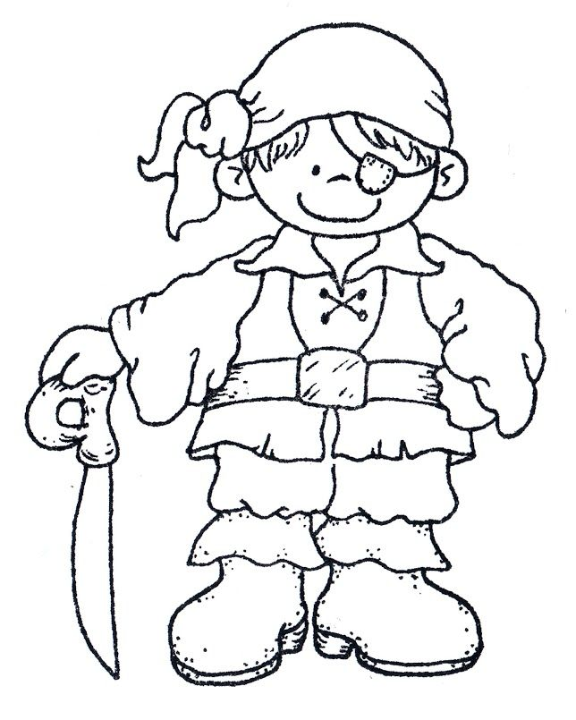 pirate coloring pages elementary - photo#25