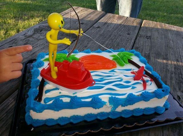 Bowfishing cake!
