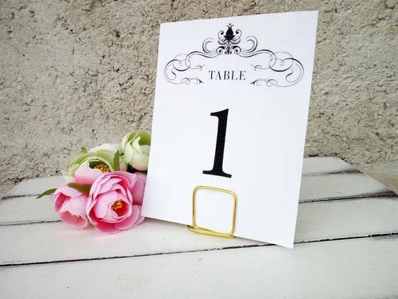 Table Number Holders Wedding Menu Stands Square Cards Holder Wedding Table Decor Party Reception Event Gold Silver Black Copper Wedding Table Number Card Holders Wedding Table Number Holders Table Number Holders