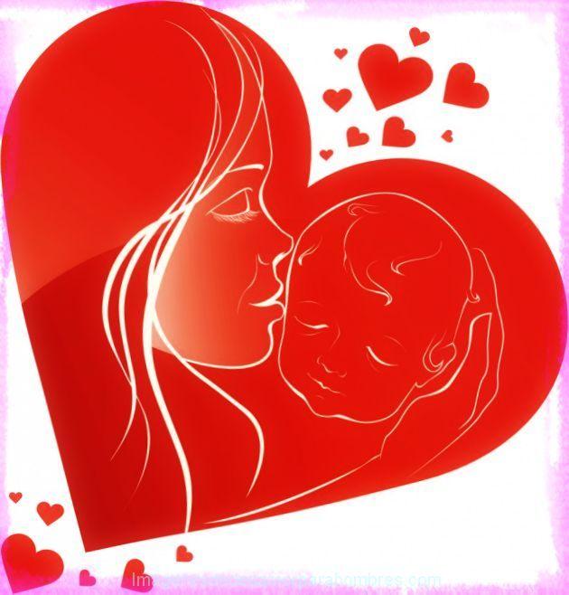Imagen De Corazones Dia De La Madre Imprimir Baby Shower Y Recién