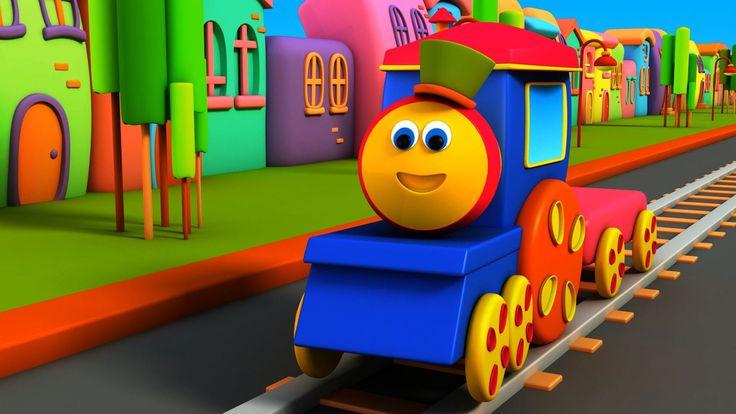 Bob , il treno - Alphabet Adventure | Bob, The Train - Alphabet Adventure