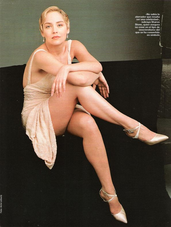Sexy Sharon young stone