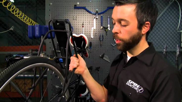 Installing a Rear Bicycle Rack from Performance Bicycle