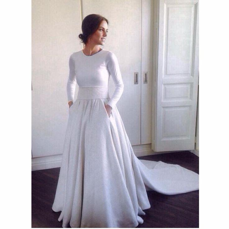 60 best Vestidos de novia images on Pinterest | Wedding frocks ...