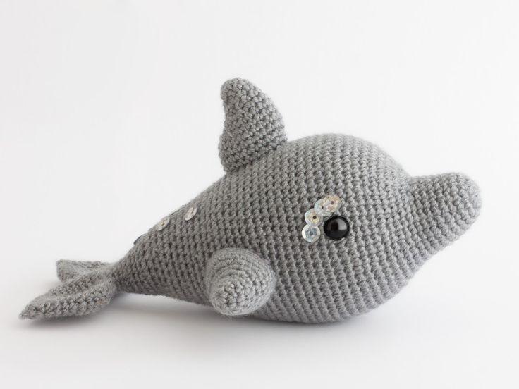 Amigurumi delfín