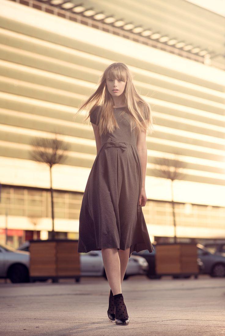 Karolina w naszej Malena Dress - http://byinsomnia.com/kolekcja/wiosna-lato-2015/malena-dress?variant_id=10196