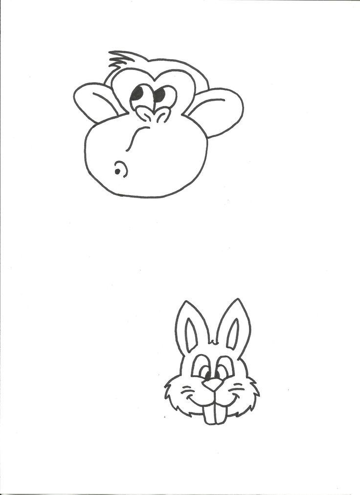 aapje en konijntje