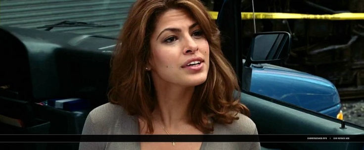 eva mendes ghost rider - Google Search    Is that a bang or long layer?  Can't tell and that's what I like!  (Bangs scare me)