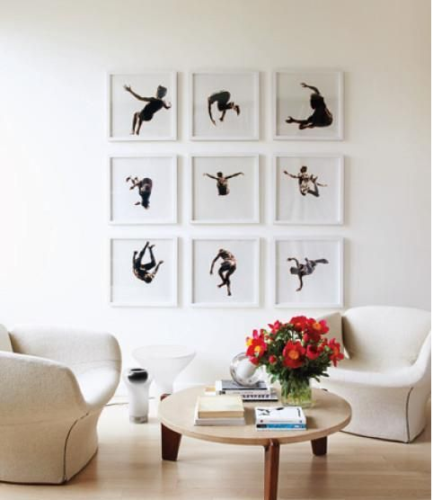 22 best Frame Feature Wall images on Pinterest | Room wall decor ...