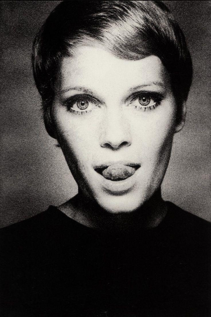 Mia Farrow in Vogue, 1967 by David Bailey