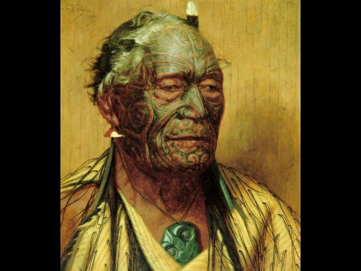 Tamati Waaka Nene - Charles Goldie