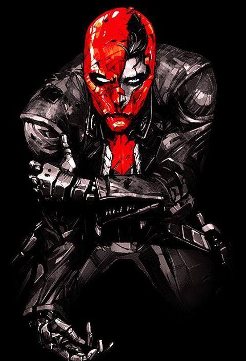 Red Hood. Damn, Jason Todd is sick