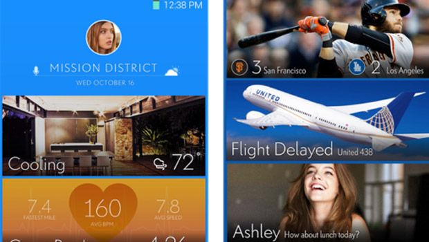 Samsung's potential new home screen looks like Google Now