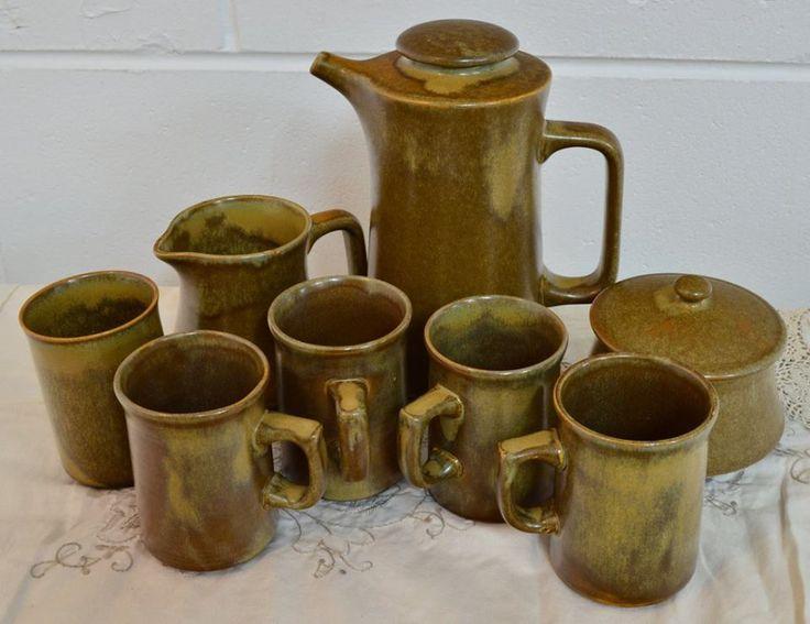 TEMUKA Coffee set. The best crockery ware of all.