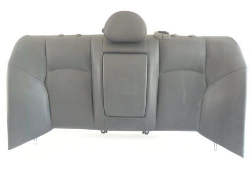2004 MERCEDES C240 W203 REAR SEAT UPPER CUSHION BLACK LEATHER FACTORY 544 #88
