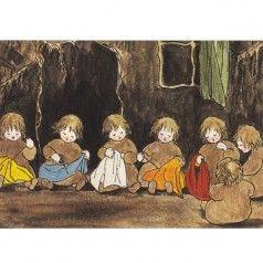 Postkaarten Wortelkinderen -onder de grond- (Sybille van Olfers)