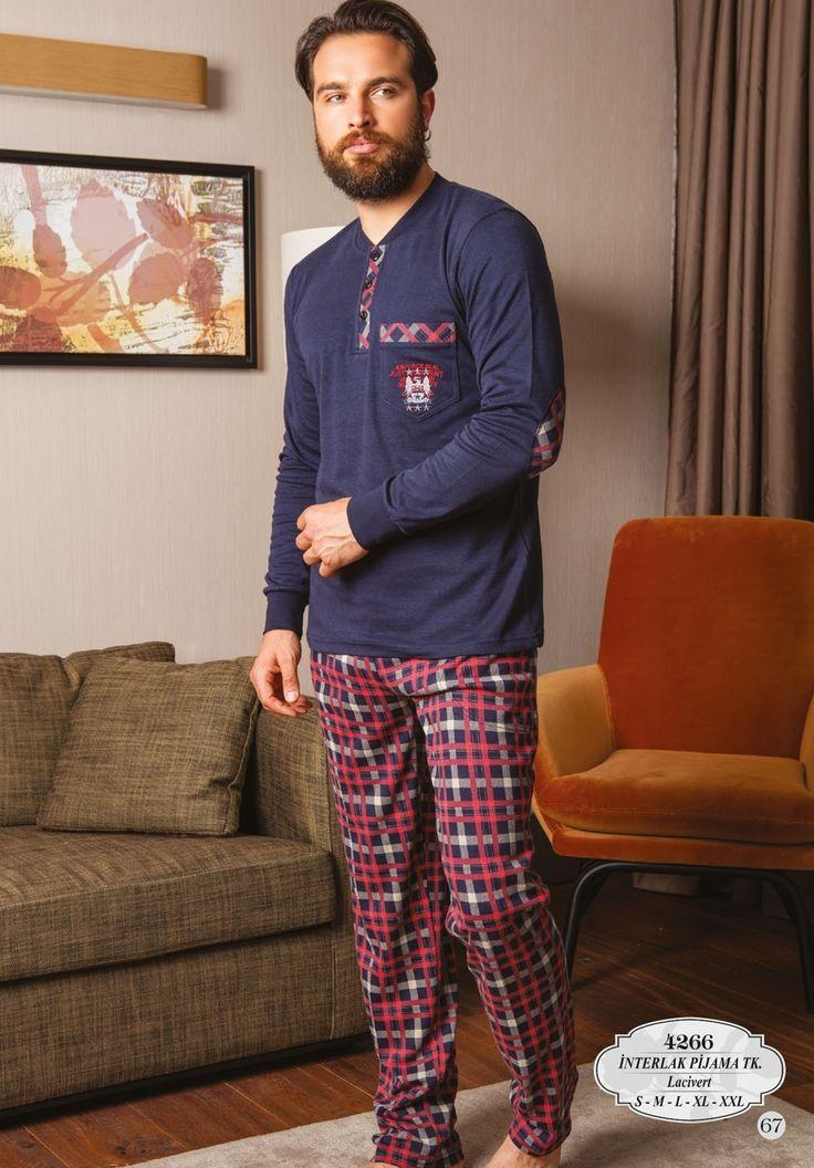 Bone Club 4266 Erkek İnterlok Pijama Takım  Erkek Pijama Takım online erkek pijama, 2017 erkek pijama | Mark-ha.com | #ErkekPijama #OnlineErkekPijama #2017ErkekPijama #ErkekGiyim #EvGiyimi #KışlıkErkekPijama #YeniSezon #Sonbahar #moda #trend #2017 #pijama #erkekmoda