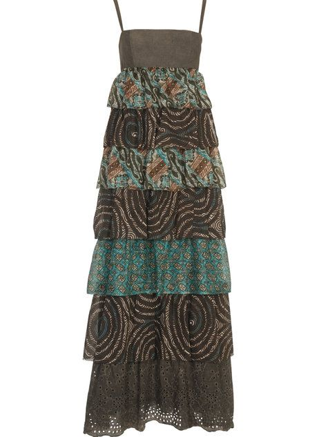This one looks fun.  I love maxi dresses these days: the comfort of a dress, without having to worry about it flying up!