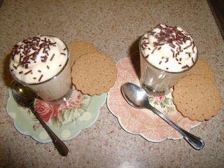 El mundo culinario de Cris: dulces - zabaglioni