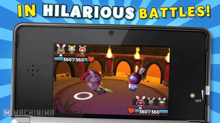 The wacky Rabbids have been let loose throughout seven different worlds and players must battle it out in-game to capture over 100 Rabbids and complete their...