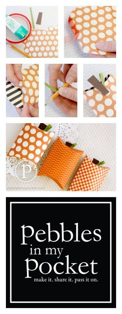 Pillow Box Tutorial