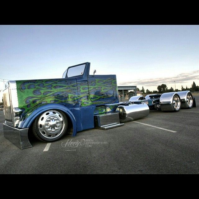 The Bagged Stretched And Roadstered Peterbilt One Of The