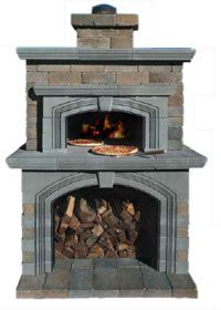Cambridge Pavingstones - Cambridge Outdoor Pizza Oven Kits...someday, my house WILL have this!