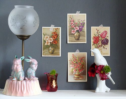 Tips on Home Styling Including Vignettes, Washi Tape and Toothpaste