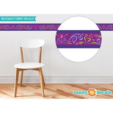Sunny Decals Frozen Inspired Border Wall Decal (Set of 2)