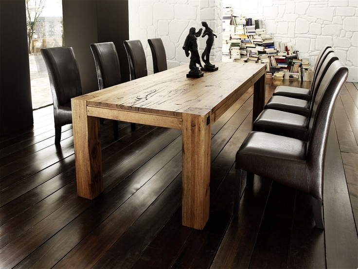 Esstisch massiv günstig  138 best Esszimmer images on Pinterest | Dining table, Live and ...