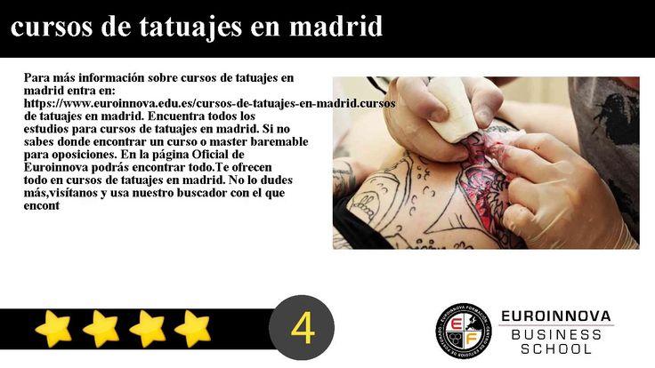 cursos de tatuajes en madrid - Para más información sobre cursos de tatuajes en madrid entra en: https://www.euroinnova.edu.es/cursos-de-tatuajes-en-madrid.    cursos de tatuajes en madrid. Encuentra todos los estudios para cursos de tatuajes en madrid. Si no sabes donde encontrar un curso o master baremable para oposiciones. En la página Oficial de Euroinnova podrás encontrar todo.    Te ofrecen todo en cursos de tatuajes en madrid. No lo dudes másvisítanos y usa nuestro buscador con el que…