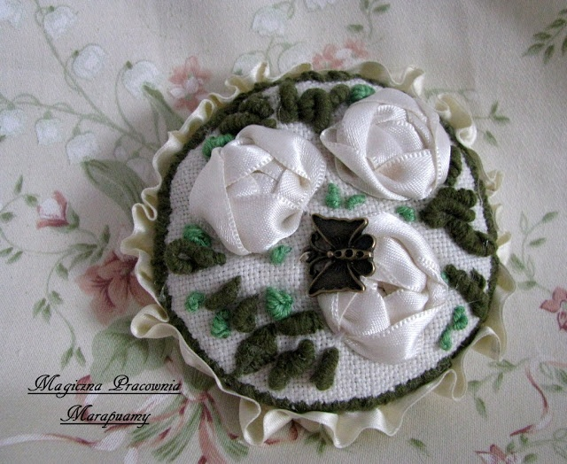 Embroidery box...