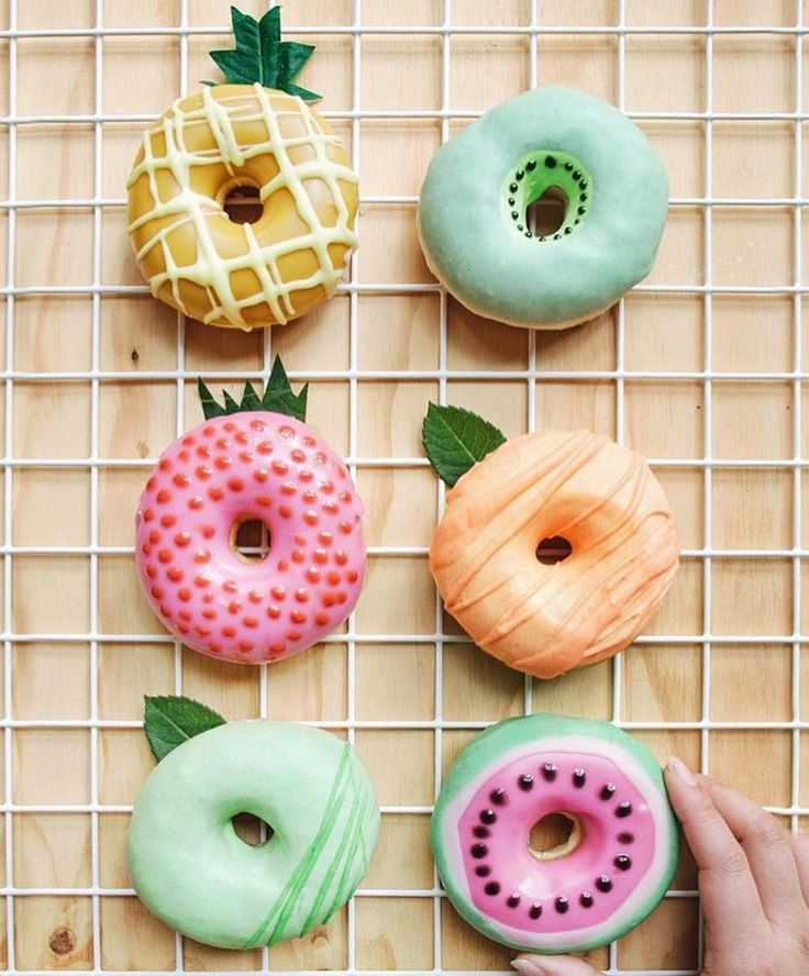 Tropical Donuts  More of our favourite sweet treats at: www.imprintables.com.au/details/we-love-sweet-treats/